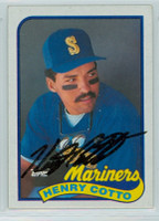 Henry Cotto AUTOGRAPH 1989 Topps Mariners   [SKU:CottH9148_T89BBLB]
