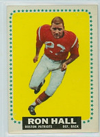 1964 Topps Football 12 Ron Hall Boston Patriots Very Good to Excellent