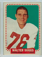1964 Topps Football 84 Walt Suggs Single Print Houston Oilers Good to Very Good
