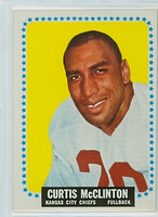 1964 Topps Football 103 Curtis McClinton Kansas City Chiefs Excellent to Mint