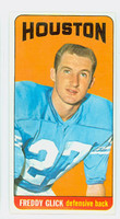 1965 Topps Football 76 Freddy Glick Houston Oilers Excellent to Excellent Plus