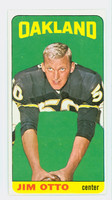 1965 Topps Football 145 Jim Otto Oakland Raiders Excellent to Excellent Plus