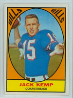 1967 Topps Football 24 Jack Kemp Buffalo Bills Excellent to Mint