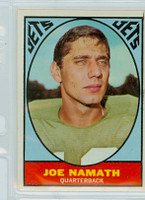 1967 Topps Football 98 Joe Namath New York Jets Very Good to Excellent