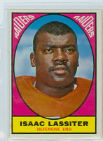 1967 Topps Football 114 Isaac Lassiter Oakland Raiders Excellent
