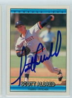 Scott Aldred AUTOGRAPH 1992 Donruss Tigers 