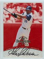 Garret Anderson AUTOGRAPH 1997 Donruss Signature Series RED /3900 Angels CERTIFIED 