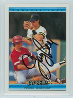 Jay Bell AUTOGRAPH 1992 Donruss Pirates 