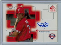 Pat Burrell AUTOGRAPH 1999 Upper Deck SP Signature Phillies CERTIFIED 