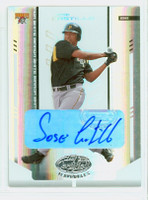 Jose Castillo AUTOGRAPH 2004 Leaf Mirror Pirates 28/100 CERTIFIED 