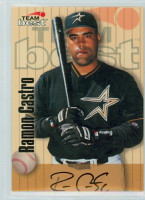 Ramon Castro AUTOGRAPH 1998 Team Best CERTIFIED 