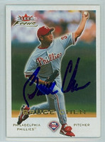 Bruce Chen AUTOGRAPH 2001 Fleer Focus Phillies 
