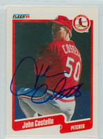 John Costello AUTOGRAPH 1990 Fleer Cardinals 
