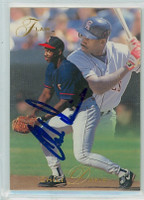 Chili Davis AUTOGRAPH 1993 Fleer Flair Angels 