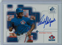 Carlos Delgado AUTOGRAPH 1999 Upper Deck SP Signature Blue Jays CERTIFIED 
