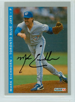 Mark Eichhorn AUTOGRAPH 1993 Fleer Blue Jays Final Edition 