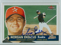 Morgan Ensberg AUTOGRAPH 2001 Fleer Tradition Astros 