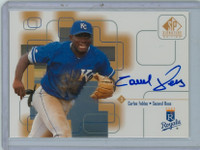 Carlos Febles AUTOGRAPH 1999 Upper Deck SP Signature Royals CERTIFIED 