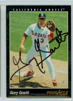 Gary Gaetti AUTOGRAPH 1993 Pinnacle Angels 