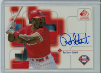 Ron Gant AUTOGRAPH 1999 Upper Deck SP Signature Phillies CERTIFIED 