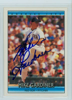 Mark Gardner AUTOGRAPH 1992 Donruss Red Sox 