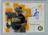 Jason Giambi AUTOGRAPH 1999 Upper Deck SP Signature Athletics CERTIFIED 