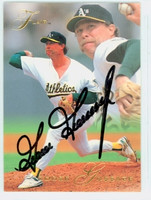 Rich Gossage AUTOGRAPH 1993 Fleer Flair Athletics 