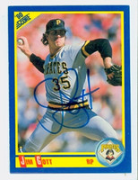 Jim Gott AUTOGRAPH 1990 Score Pirates 