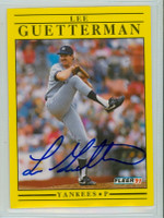 Lee Guetterman AUTOGRAPH 1991 Fleer Yankees 