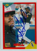 Joe Hall AUTOGRAPH 1994 Score Angels 