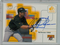 Chad Hermansen AUTOGRAPH 1999 Upper Deck SP Signature Pirates CERTIFIED 