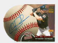 Chad Hermansen AUTOGRAPH Pacific Sweet Spot Pirates CERTIFIED 