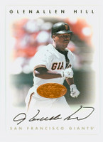 Glenallen Hill AUTOGRAPH 1996 Leaf Signature Series Giants Bronze CERTIFIED 