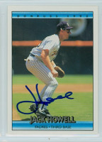Jack Howell AUTOGRAPH 1992 Donruss Padres 