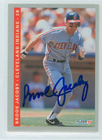 Brook Jacoby AUTOGRAPH 1993 Fleer Indians 