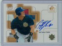 Geoff Jenkins AUTOGRAPH 1999 Upper Deck SP Signature Brewers CERTIFIED 