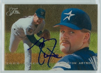 Todd Jones AUTOGRAPH 1995 Fleer Flair Astros  [SKU:JoneT12156_FLFLAIR95]