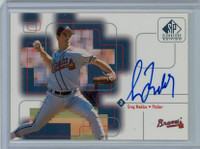 Greg Maddux AUTOGRAPH 1999 Upper Deck SP Signature Braves CERTIFIED 