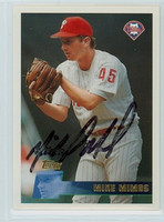 Mike Mimbs AUTOGRAPH 1996 Topps Phillies 