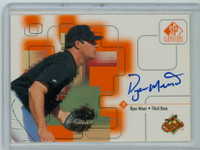 Ryan Minor AUTOGRAPH 1999 Upper Deck SP Signature Orioles CERTIFIED 