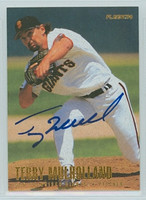 Terry Mulholland AUTOGRAPH 1996 Fleer Giants 