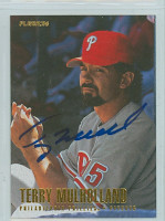 Terry Mulholland AUTOGRAPH 1996 Fleer Phillies 