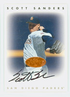 Scott Sanders AUTOGRAPH 1996 Leaf Signature Series Padres Bronze CERTIFIED 