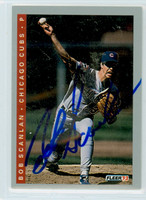 Bob Scanlan AUTOGRAPH 1993 Fleer Cubs 