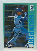 Terry Shumpert AUTOGRAPH 1992 Fleer Royals 