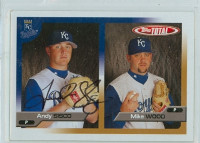 Andrew Sisco AUTOGRAPH 2005 Topps Total Royals 