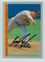 Kerry Taylor AUTOGRAPH 1993 Fleer Padres Final Edition 