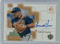 Fernando Vina AUTOGRAPH 1999 Upper Deck SP Signature Brewers CERTIFIED 