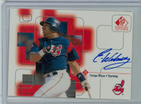Enrique Wilson AUTOGRAPH 1999 Upper Deck SP Signature Indians CERTIFIED 