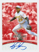 Kevin Young AUTOGRAPH 1997 Donruss Signature Series Pirates CERTIFIED 